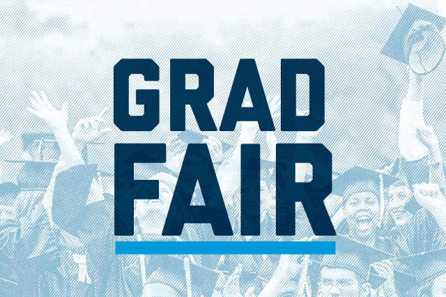 Grad Fair Hero Graphic