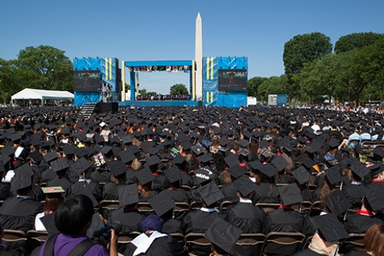 Graduates on the National Mall