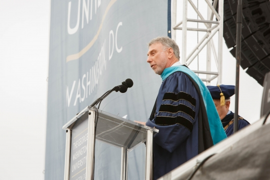 GW Honorary Degree Recipient 2017: Marty Baron