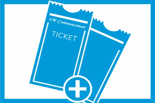 GW Commencement Tickets