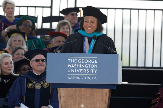 GW Honorary Degree Recipient 2018: Elana Meyers Taylor