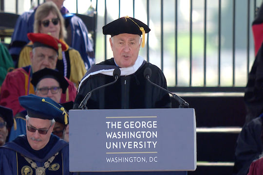 GW Honorary Degree Recipient 2018: Steven Knapp