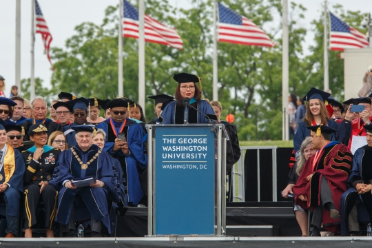 GW Commencement 2017: Sen. Tammy Duckworth