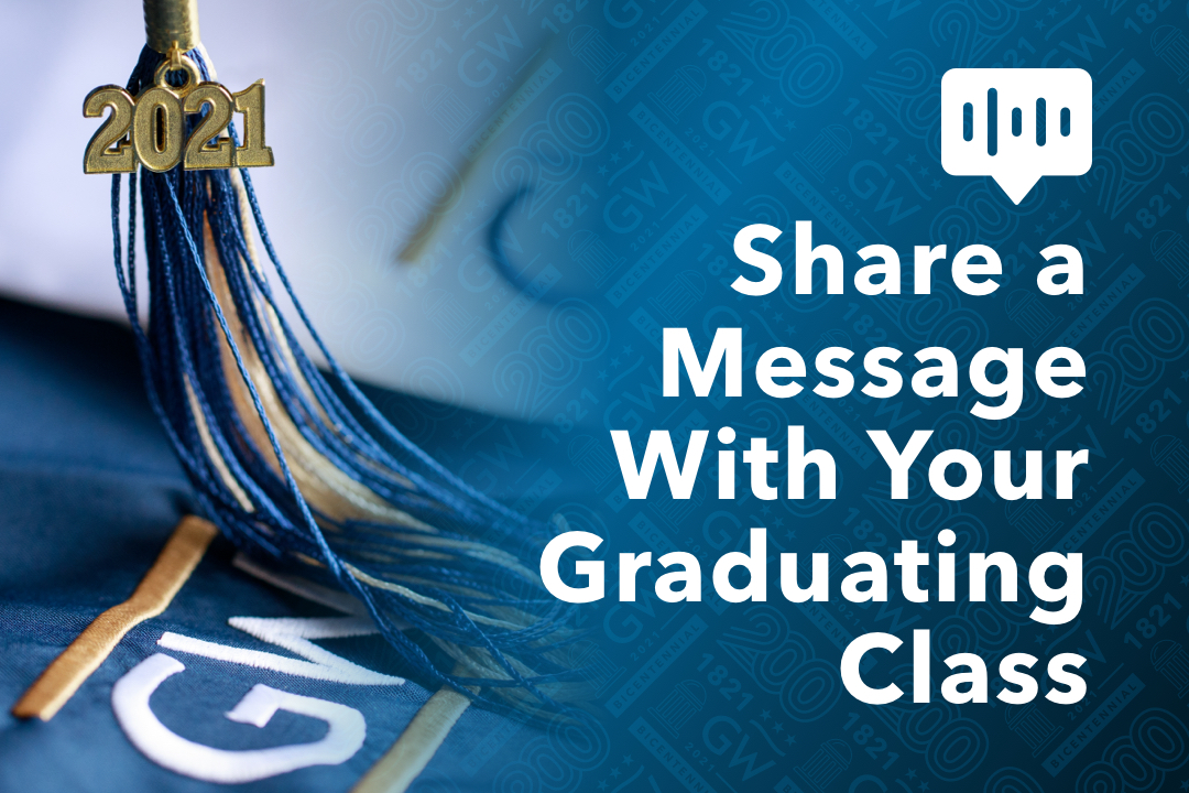 Share a Message With Your Graduating Class; photo of a 2021 tassel
