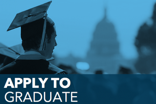 Apply to Graduate graduate looking at capitol